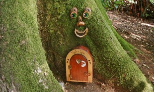 Fairy door Wayford Woods Somerset