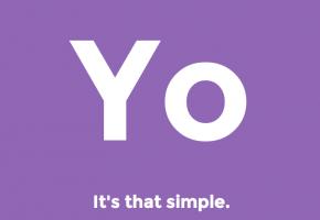 【極シンプル】「Yo」と送り合うだけのコミュニケーションアプリ「Yo」