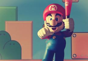 """スーパーマリオブラザーズのゲームは""""新聞紙◯◯ページ分""""と同じであることが判明"""