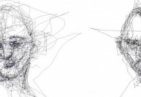 『これぞ目力』視線だけで絵を描くアーティスト